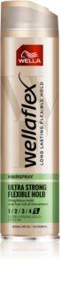 Wella Wellaflex Flexible Ultra Strong Extra Strong Fixating Hairspray