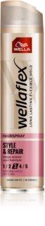 Wella Wellaflex Style & Repair lak na vlasy se střední fixací pro přirozený vzhled