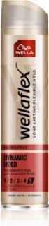 Wella Wellaflex Heat Protection Haarspray mit extra starkem Halt für thermische Umformung von Haaren