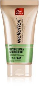 Wella Wellaflex Flexible Ultra Strong gél na vlasy s extra silnou fixáciou