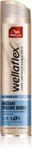 Wella Wellaflex Instant Volume Boost Hårspray - stærk hold Til ekstra volumen