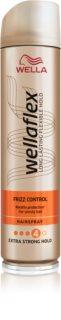Wella Wellaflex Frizz Control lak na vlasy se silnou fixací pro kudrnaté vlasy