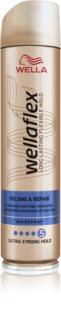 Wella Wellaflex Volume & Repair  lak na vlasy s extra silnou fixací pro objem a vitalitu