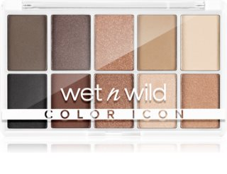 Wet n Wild Color Icon 10-Pan paleta de sombras de ojos