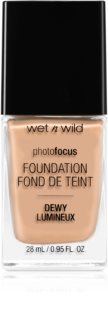 Wet n Wild Photo Focus лек хидратиращ фон дьо тен за озаряване на лицето