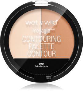 Wet N Wild MegaGlo palette contouring