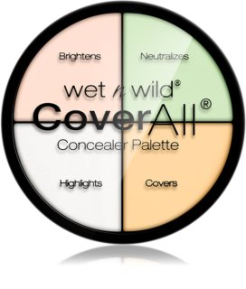 Wet n Wild Cover All Corrector Palette