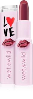 Wet n Wild Love Edition Mega Last batom hidratante com brilho