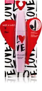 Wet n Wild Love Edition Mega Volume μάσκαρα για όγκο σε έχτρα μαύρο