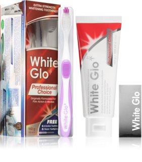 White Glo Professional Choice Комплект за дентална грижа