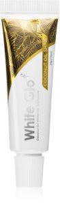 White Glo  Coconut Oil Shine відбілююча зубна паста