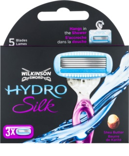 Wilkinson Sword Hydro Silk Vervangende Open Messen