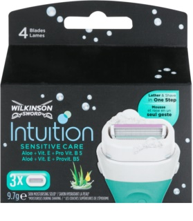 Wilkinson Sword Intuition Sensitive Care lames de rechange