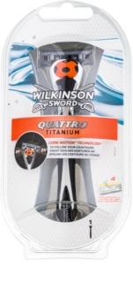 Wilkinson Sword Quattro Titanium Scheerapparaat
