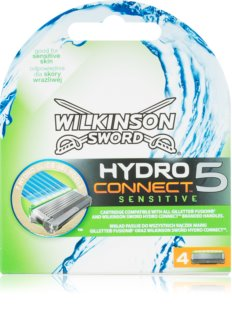 Wilkinson Sword Hydro Connect 5 Replacement Blades for Sensitive Skin