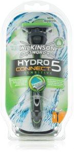 Wilkinson Sword Hydro Connect 5 maquinilla de afeitar para pieles sensibles