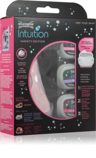 Wilkinson Sword Intuition Variety Edition Shaving Kit For Women