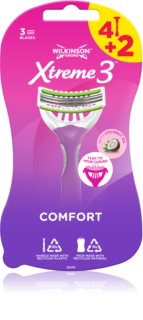 Wilkinson Sword Xtreme 3 Beauty Wegwerp Scheermessen