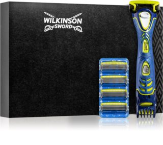 Wilkinson Sword Hydro5 Groomer Trimmer and Shaver + Spare Blades 8 pcs