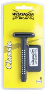 Wilkinson Sword Classic ξυριστική μηχανή + ανταλλακτικές λεπίδες 5 τεμ