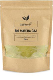 Wolfberry Matcha tea BIO zelený čaj v prášku
