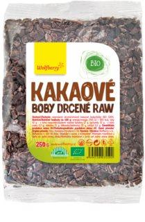 Wolfberry Kakaové boby drcené BIO nepražené v BIO kvalitě