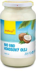 Wolfberry RBD Kokosový olej BIO olej rafinovaný bez příchuti a vůně