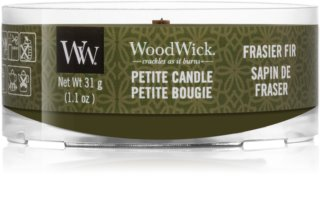 Woodwick Frasier Fir вотивная свеча с деревянным фителем