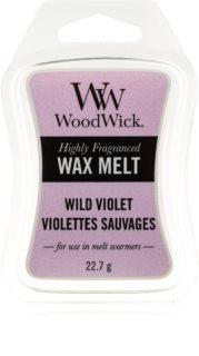 Woodwick Wild Violet cera per lampada aromatica