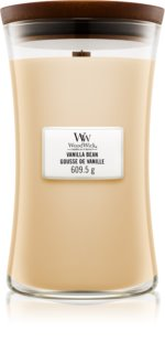 Woodwick Vanilla Bean duftlys Trævæge