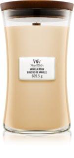 Woodwick Vanilla Bean bougie parfumée avec mèche en bois