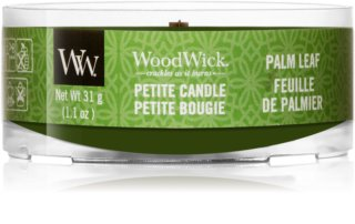 Woodwick Palm Leaf votive candle Wooden Wick