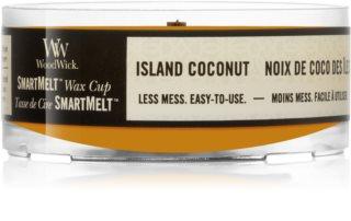 Woodwick Island Coconut κερί για αρωματική λάμπα