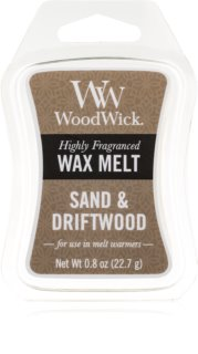 Woodwick Sand & Driftwood vosk do aromalampy