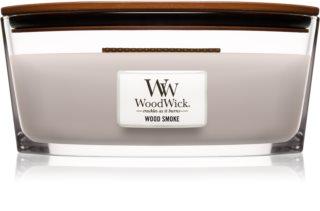 Woodwick Wood Smoke bougie parfumée avec mèche en bois (hearthwick)