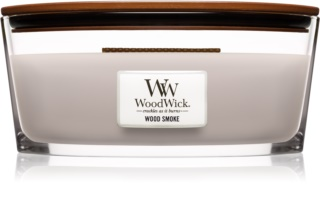 Woodwick Wood Smoke vela perfumada  con mecha de madera (hearthwick)