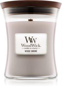 Woodwick Wood Smoke Tuoksukynttilä Puinen Sydän