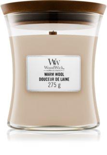 Woodwick Warm Wool doftljus trä wick