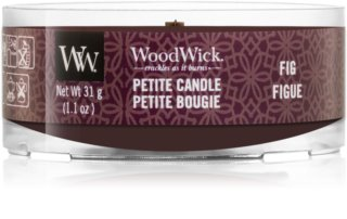 Woodwick Fig votive candle Wooden Wick