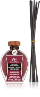 Woodwick Black Cherry aroma diffuser met vulling