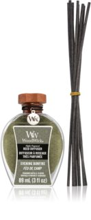 Woodwick Evening Bonfire aroma diffuser met vulling