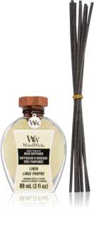 Woodwick Linen aroma diffúzor töltelékkel