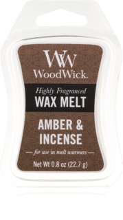 Woodwick Amber & Incense vosk do aromalampy