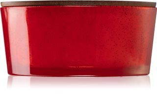 Woodwick Pomegranate scented candle I. wooden wick (hearthwick)