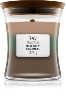 Woodwick Trilogy Ocean αρωματικό κερί με ξύλινο φιτίλι 275 γρ