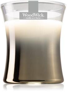 Woodwick Smoked Jasmine vonná svíčka s dřevěným knotem