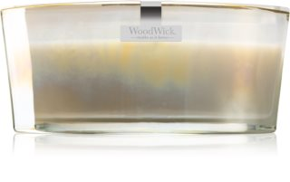 Woodwick Floral Night Smoked Jasmine scented candle wooden wick (hearthwick)