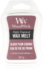 Woodwick Black Plum wachs für aromalampen 22,7 g