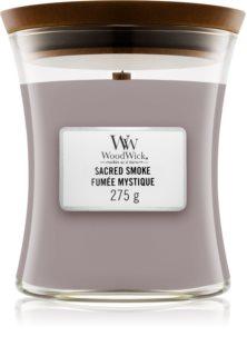 Woodwick Sacred Smoke aроматична свічка з дерев'яним гнітом