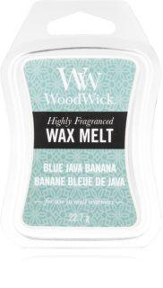 Woodwick Blue Java Banana cera per lampada aromatica